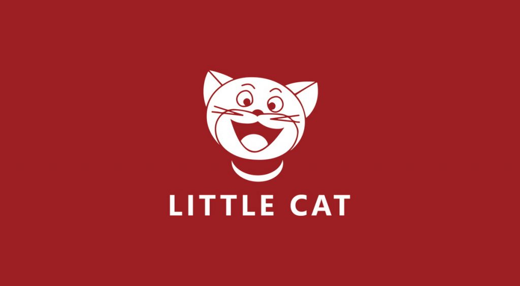 Little Cat Logo Design