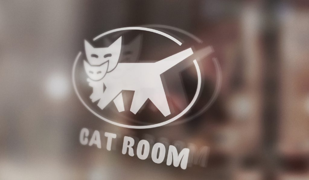 Cat Room Logo Design