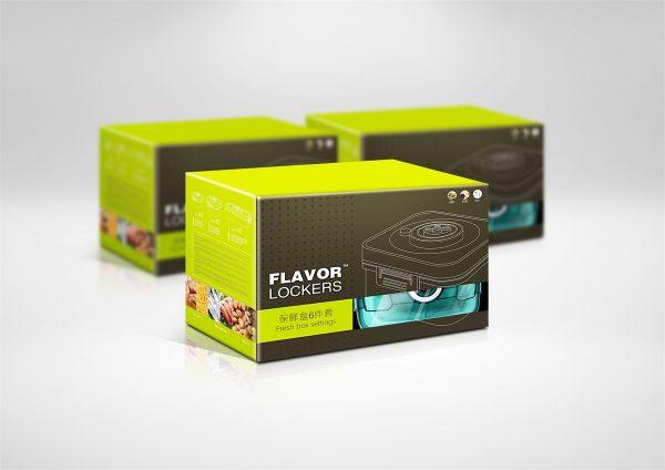 Packaging Design – Flavor Lockers