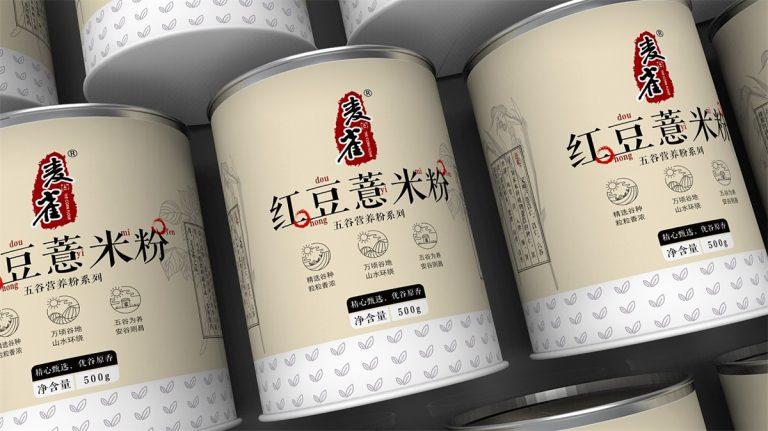 Packaging Design – Red Bean & Barley Powder
